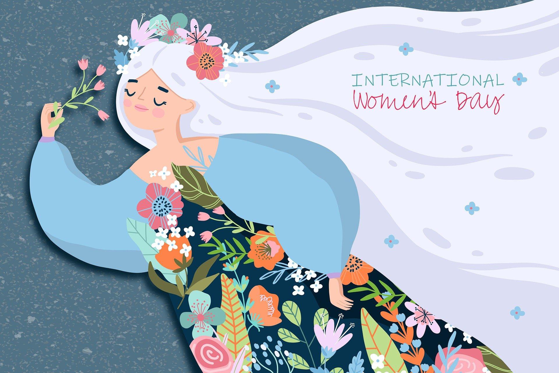 Am 08. März ist der internationale Weltfrauentag!