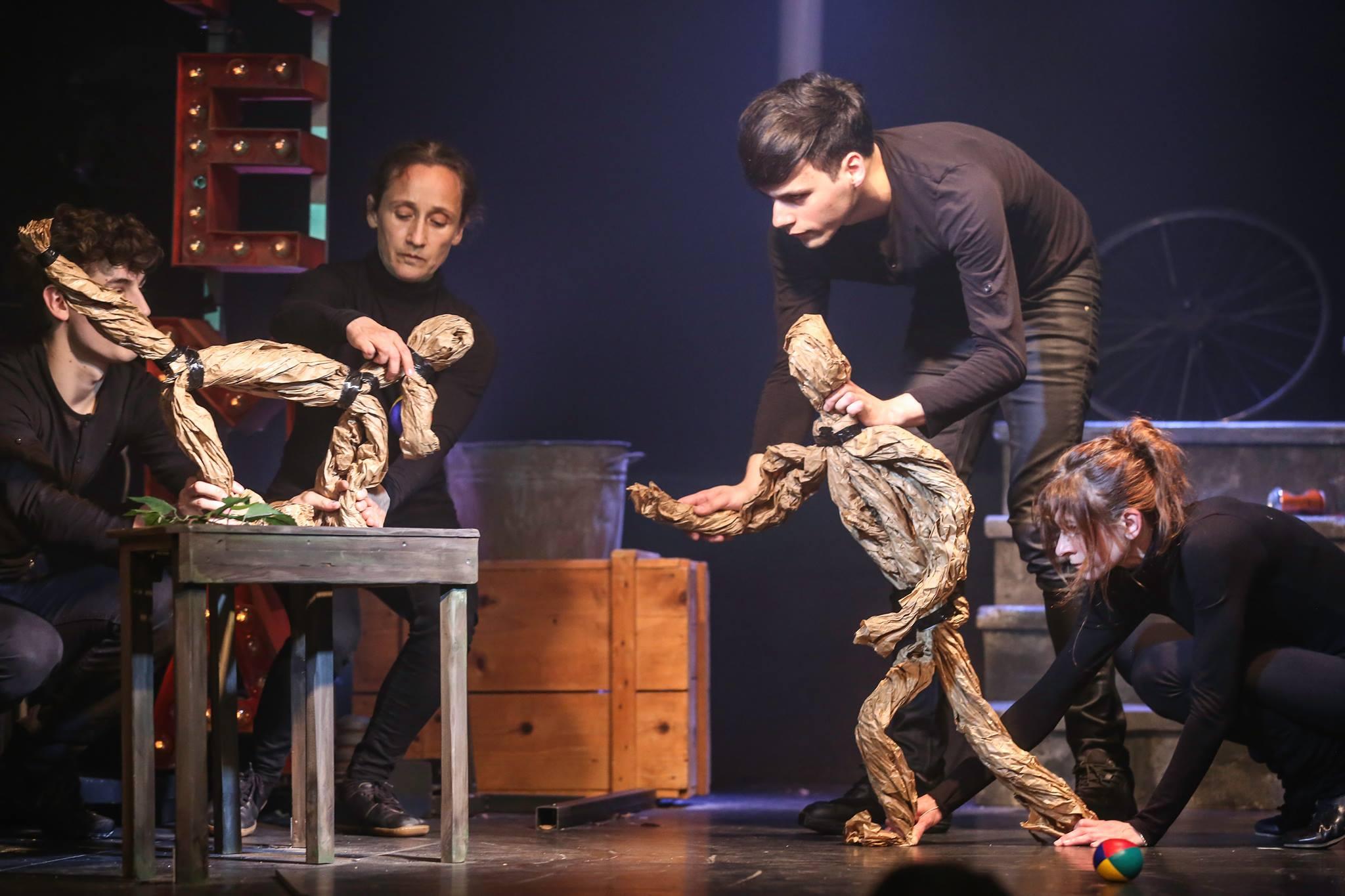 Paperman, Schubert Theater 2016, Fotos: Barbara Pálffy