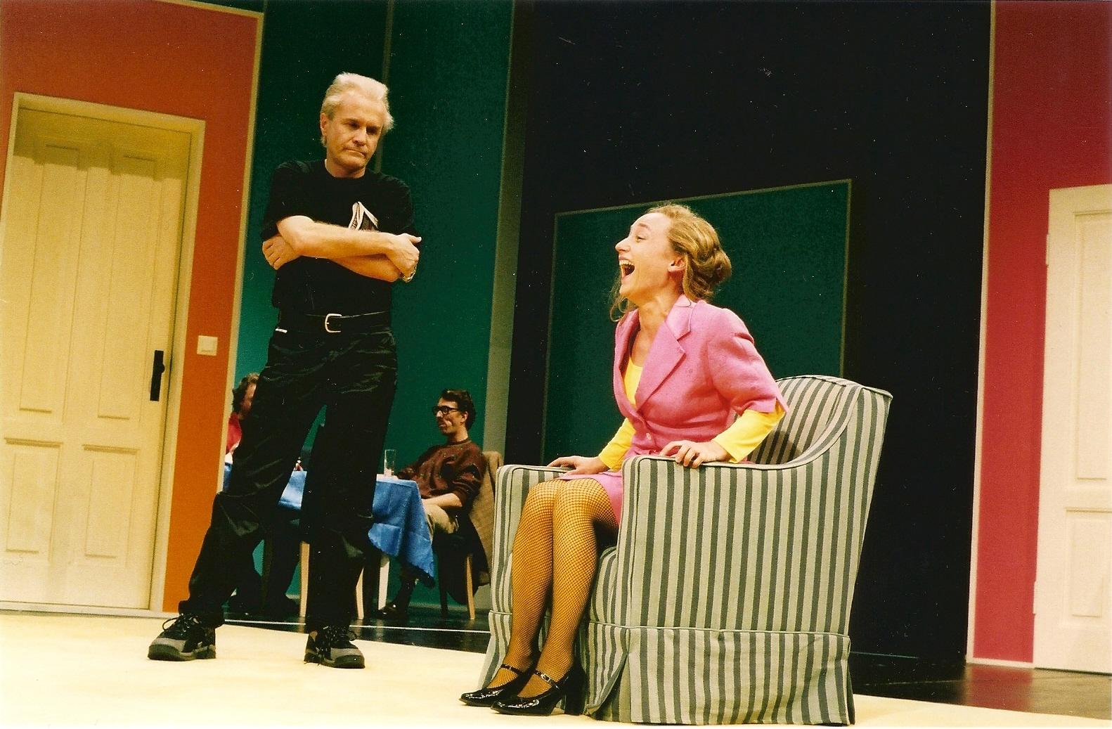 Schöne Bescherungen, 2003, Theater Heilbronn, Fotos: Emanuela Danielewicz