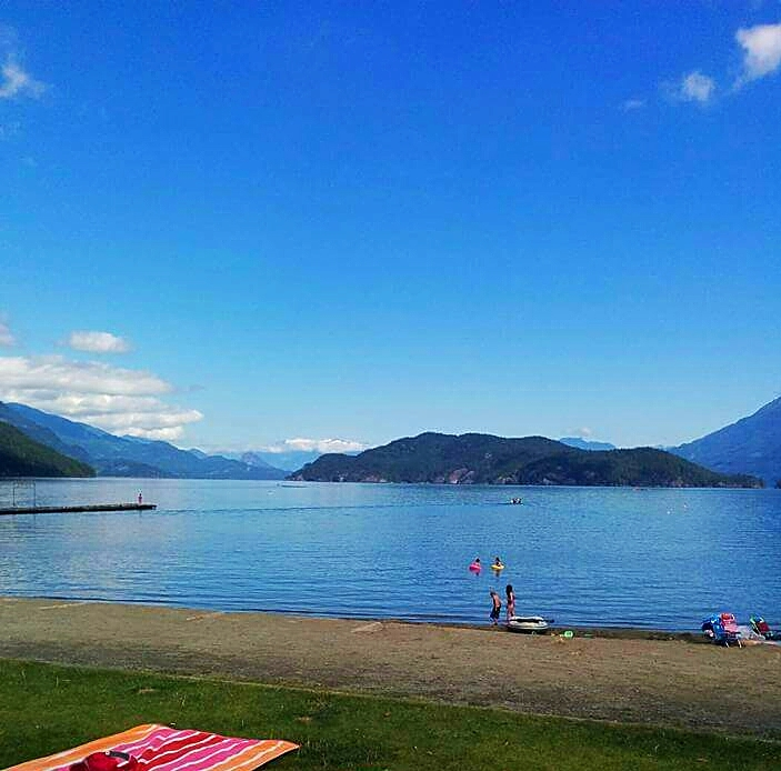 beach, harrisonhotsprings, timeout, relax, zen, creativeliving, sampernoski, artist, summertrip, familytime