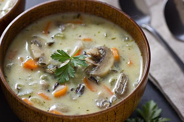 Суп с грибами рецепт с фото