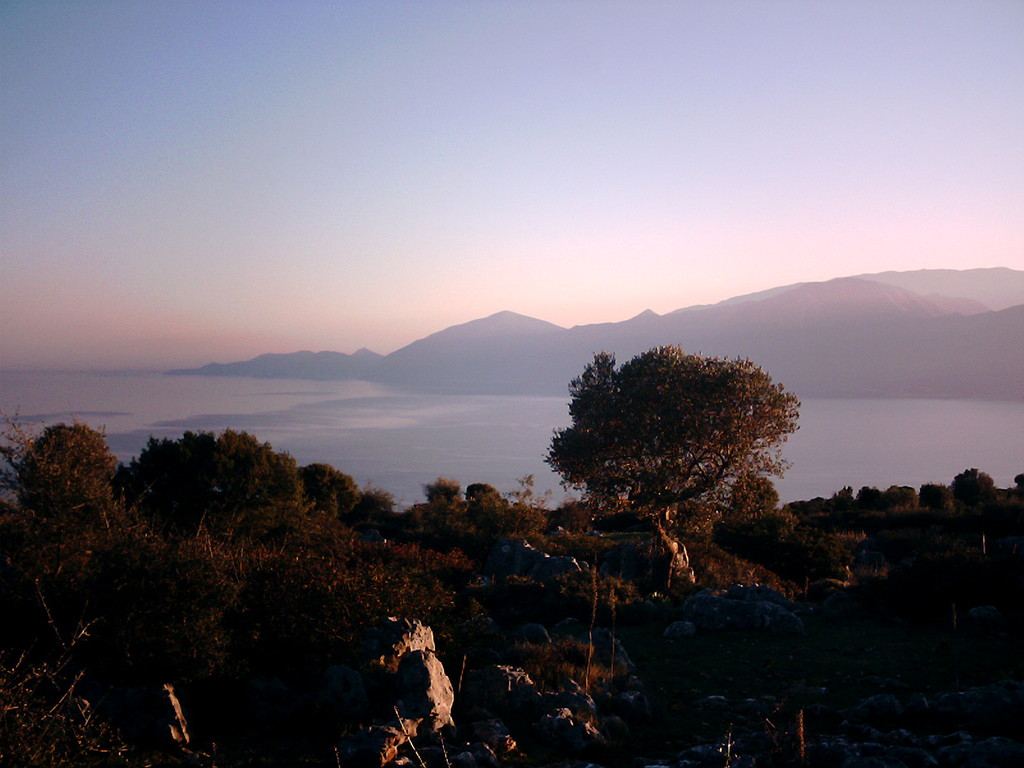 Blick auf Kefallonia/Zakinthos