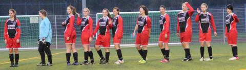 SG STS/MTV vor dem Spiel gegen FC Ampertal Unterbruck