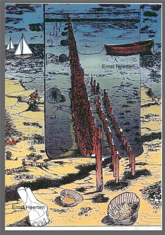 2.15 - Strandgutimpressionen / auf Nachfrage (Siebdruck)