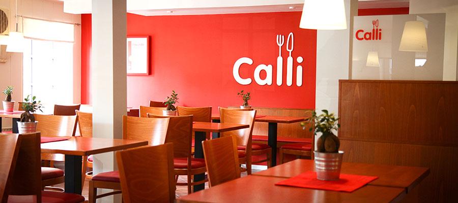 Calli-Tastic unser Gastraum