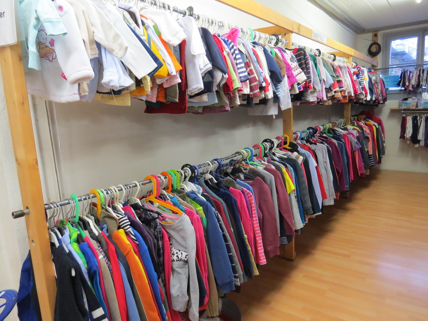 Secondhand: Kinderkleider