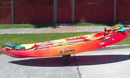 Kayak rental at Hostal Mundo Nuevo Ancud