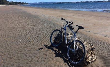 Mountain bike rental at Hostal Mundo Nuevo Ancud