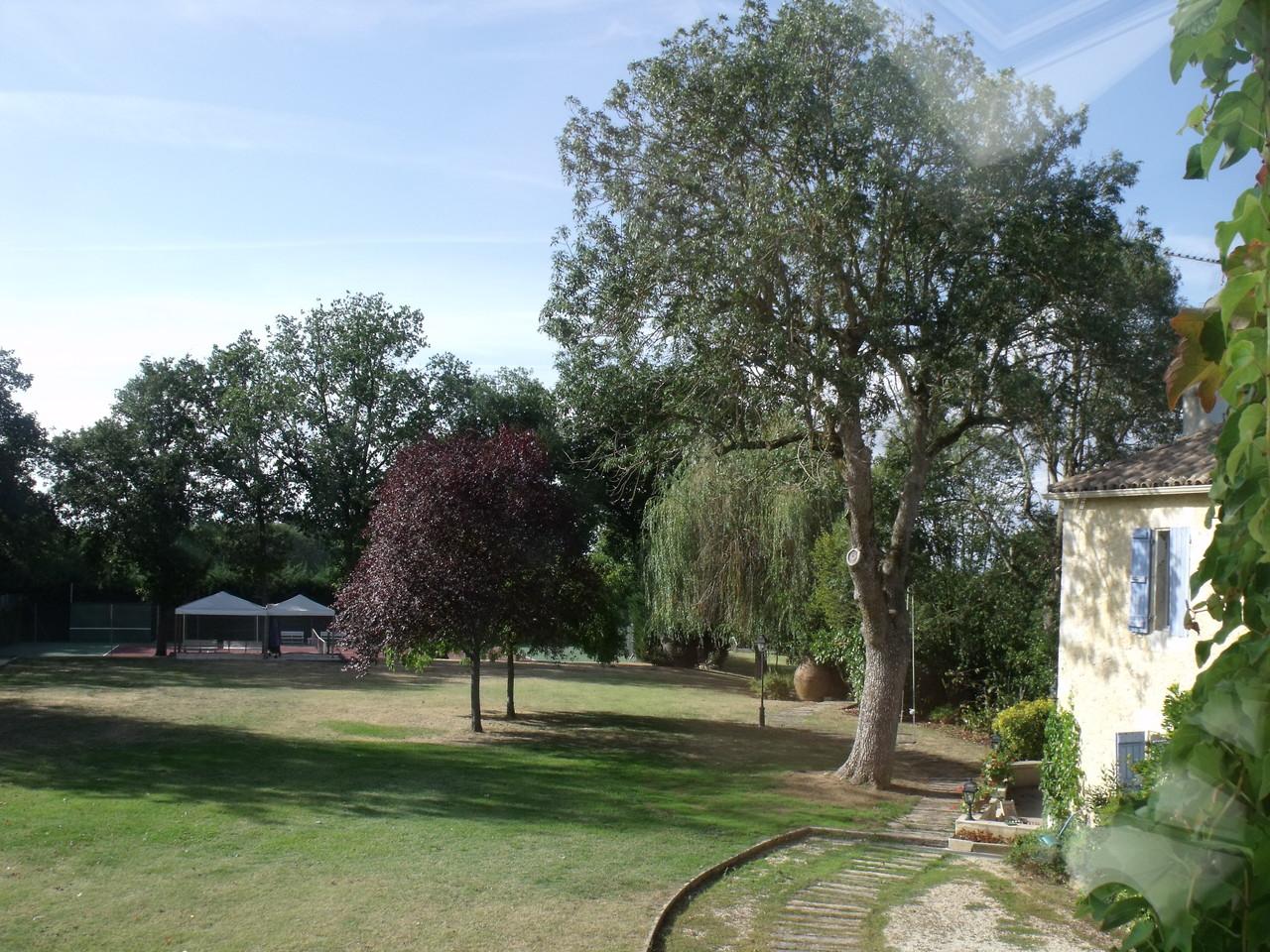 Vue parc depuis Billard
