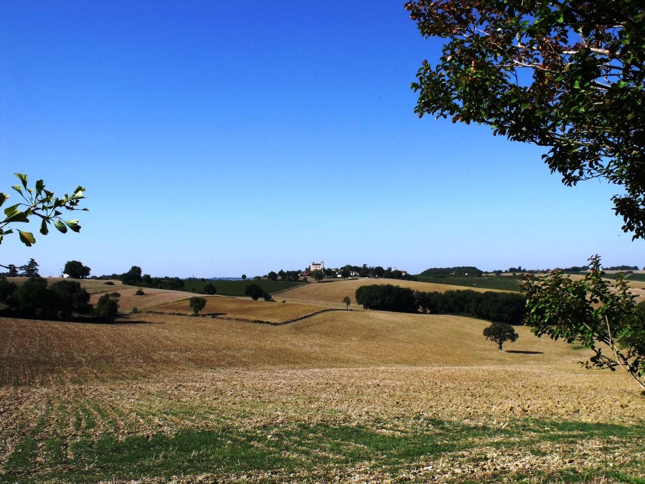 Vue paysage depuis le putting green 1