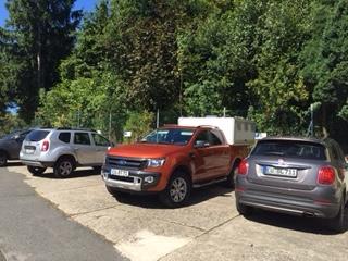 Unsere Parkplätze