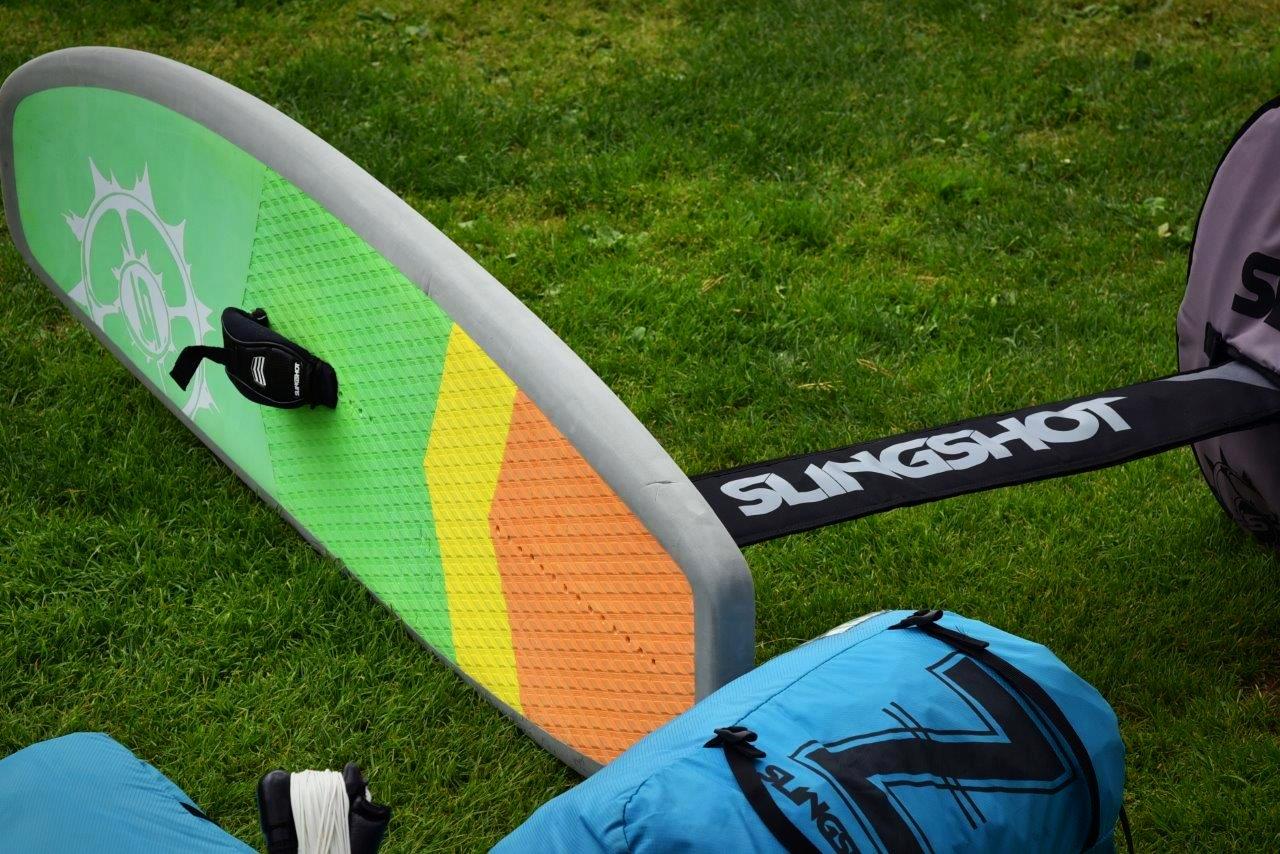 Ein Hydrofoil Board