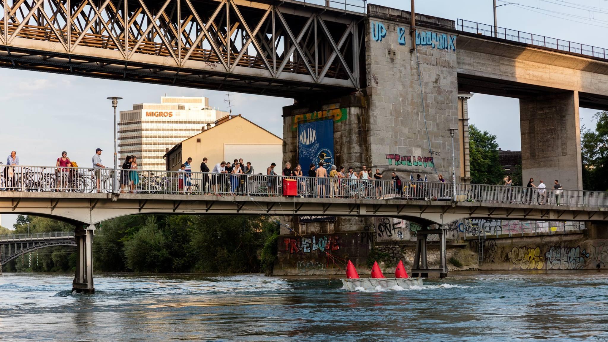 Manchmal surfen sie auch in Zürich City