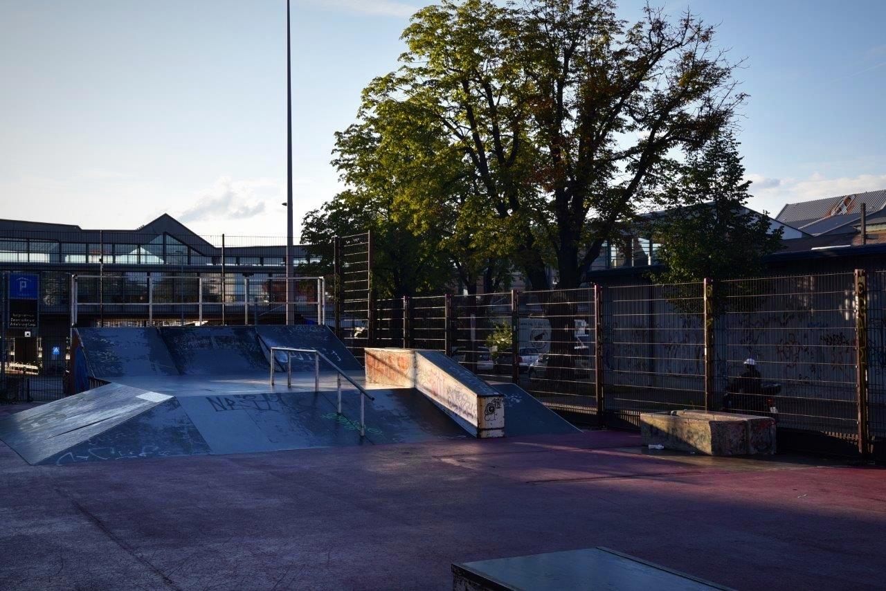 Purple Park Anlage im Gundeli