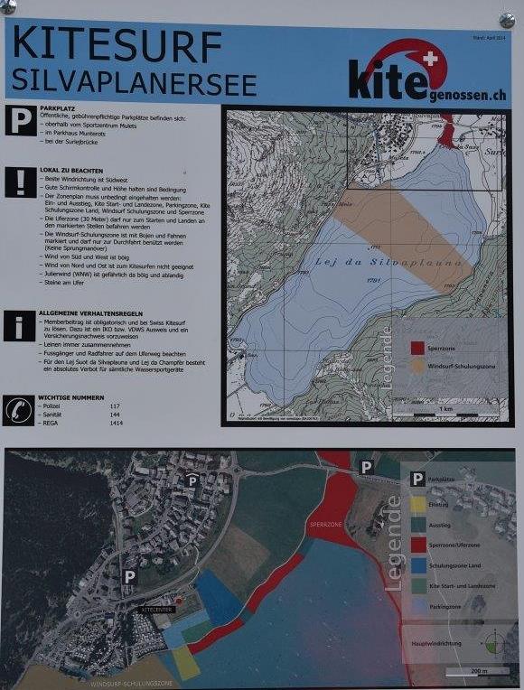 Die Kitesurfregeln