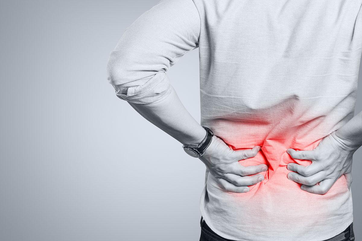 Rückenschmerzen? Sanfte Bewegung hilft!