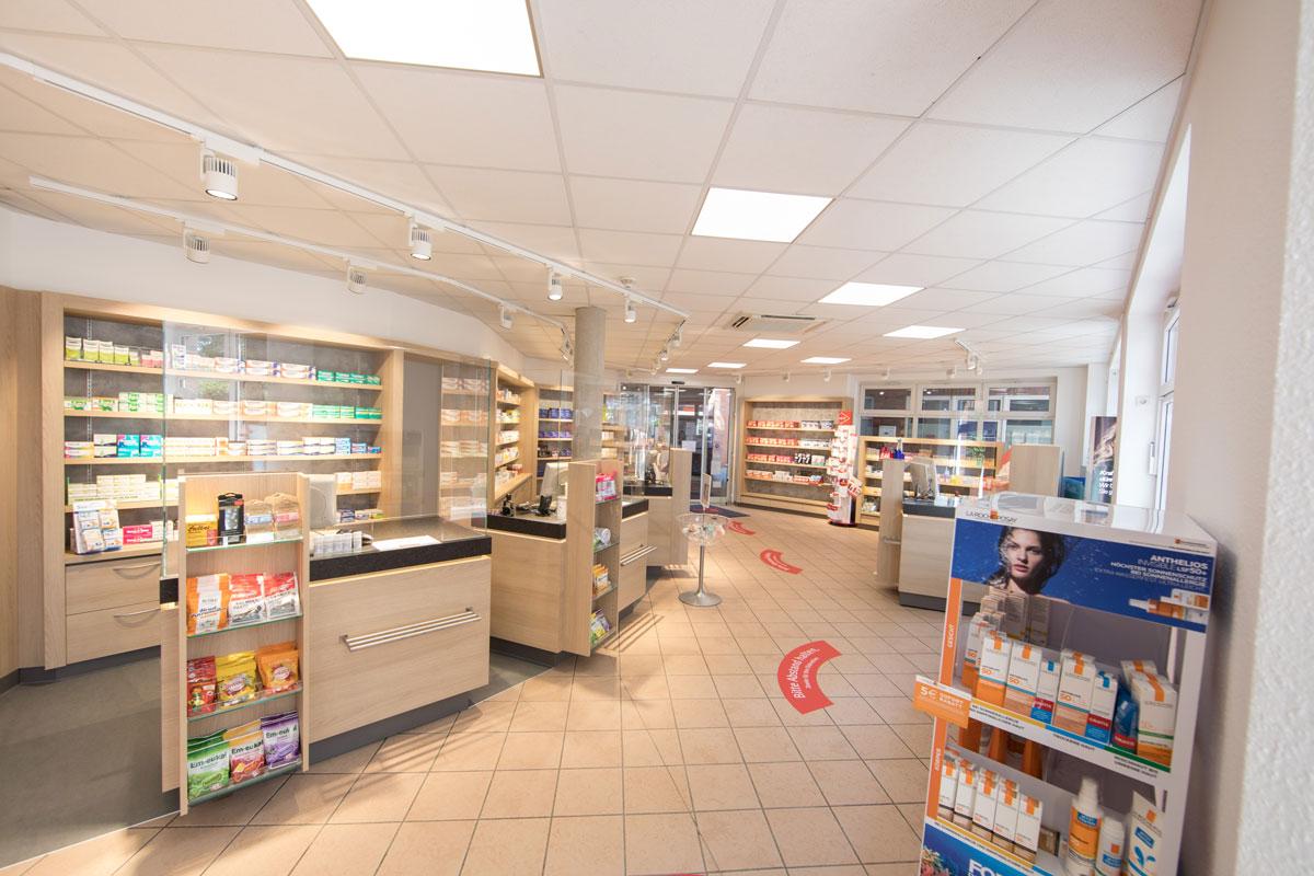 Einblick in die Marien-Apotheke in Reken