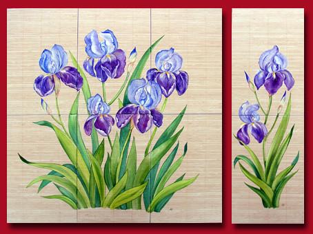 Tableau les iris
