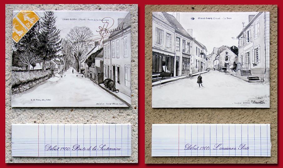 Le Grand-bourg. Les années 1900