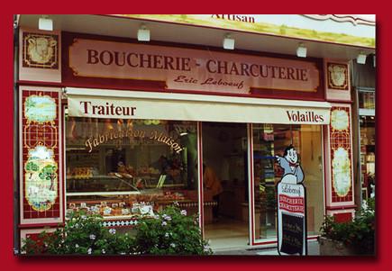 Boucherie charcuterie. Bourges