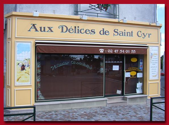 Boulangerie pâtisserie. Saint-Cyr sur Loire