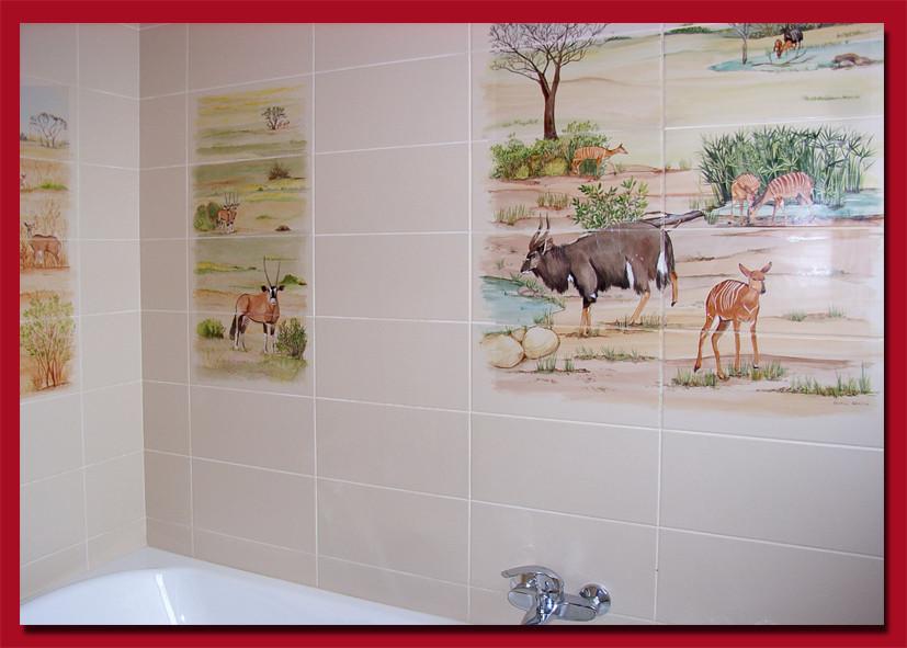 """Salle de bain. """"Safari"""""""