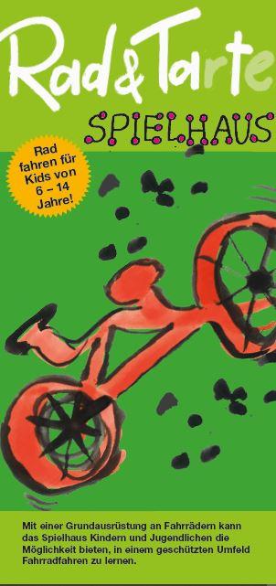Vorderseite Flyer - Rad & Tarte