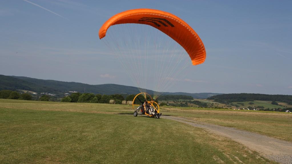 Xcitor Landung