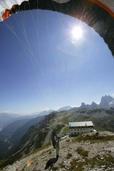 atemberaubende Bergkulisse