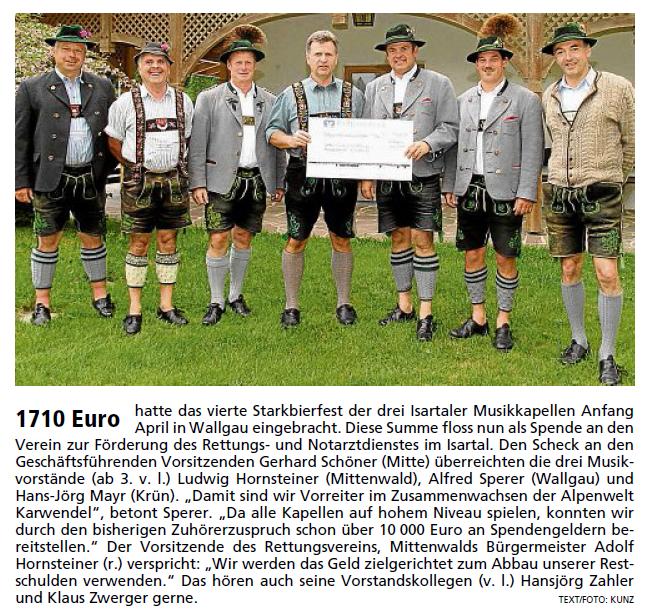 Garmisch-Partenkirchner Tagblatt vom 25.06.2011