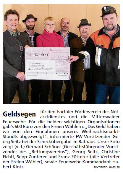 Garmisch-Partenkirchner Tagblatt vom 22.12.2010