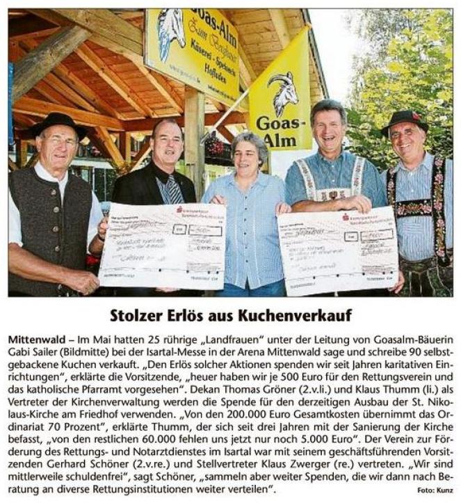 Garmischer Tagblatt 11.09.2013