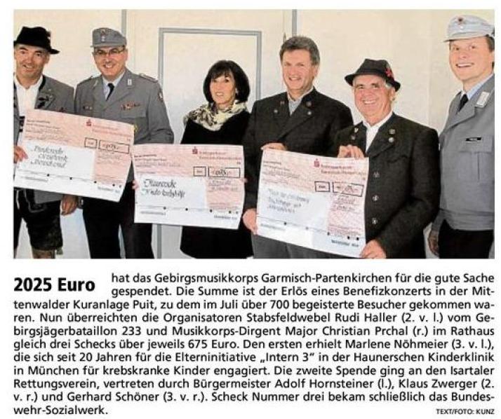 Garmisch-Partenkirchner Tagblatt vom 25.10.2011