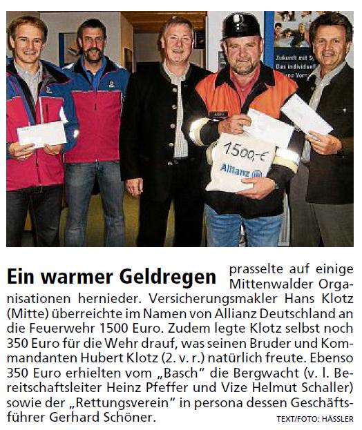 Garmisch-Partenkirchner Tagblatt vom 15.10.2010