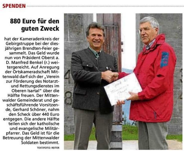 Garmisch-Partenkirchner Tagblatt vom 12.08.2010