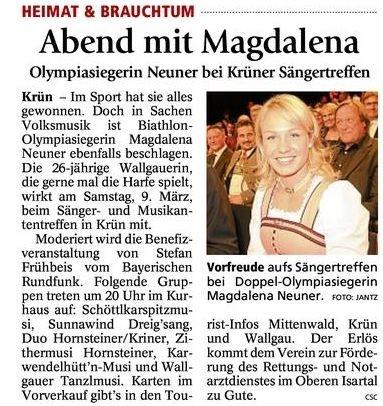 Garmischer Tagblatt 02.03.2013