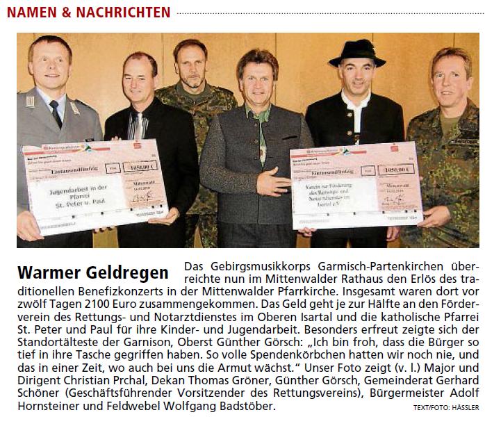 Garmisch-Partenkirchner Tagblatt vom 21.12.2010