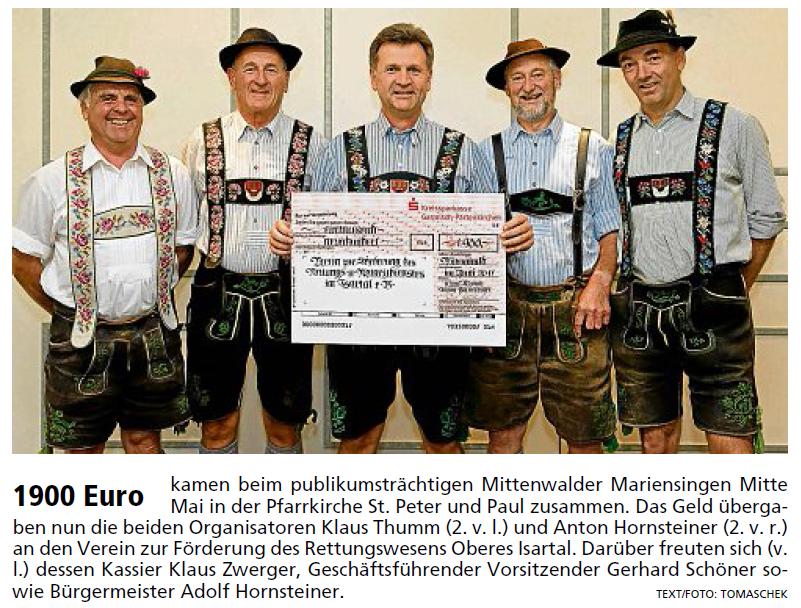 Garmisch-Partenkirchner Tagblatt vom 27.06.2011