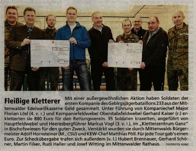 Garmischer Tagblatt 02.01.2014