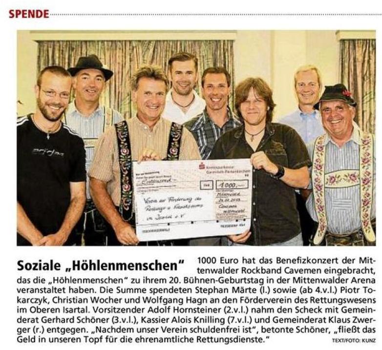 Garmischer Tagblatt 09.08.2013