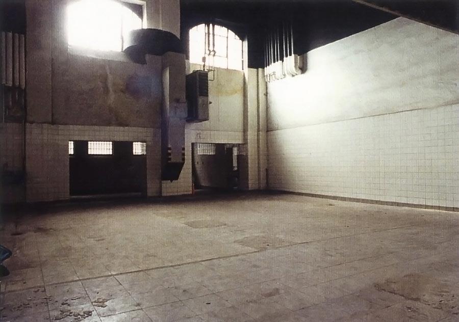 Der zukünftige Proben- und kleine Aufführungssaal - 1994, Photo: Rhida Zouari
