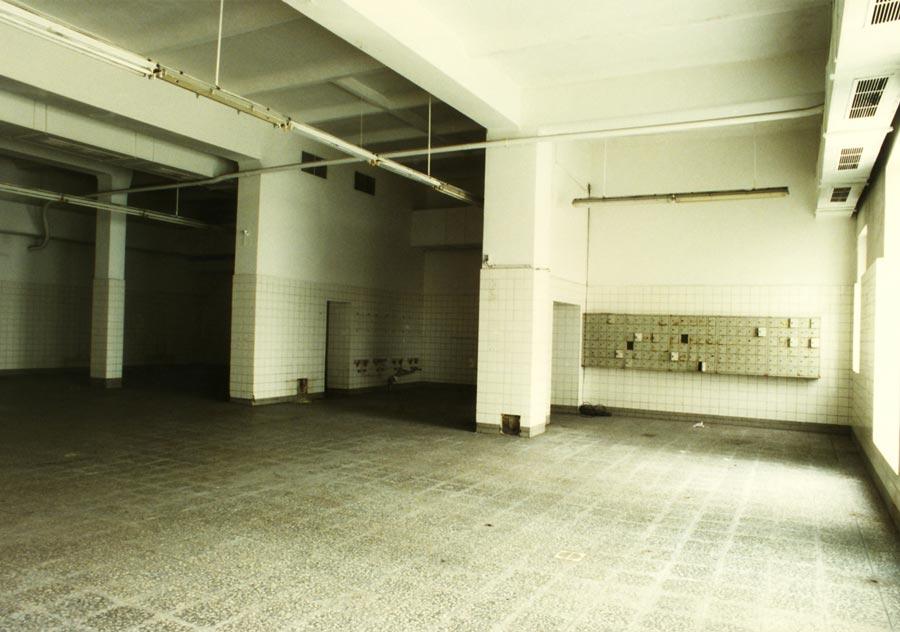 Die Foyerhalle aus anderem Blickwinkel - 1994, Photo: Rhida Zouari