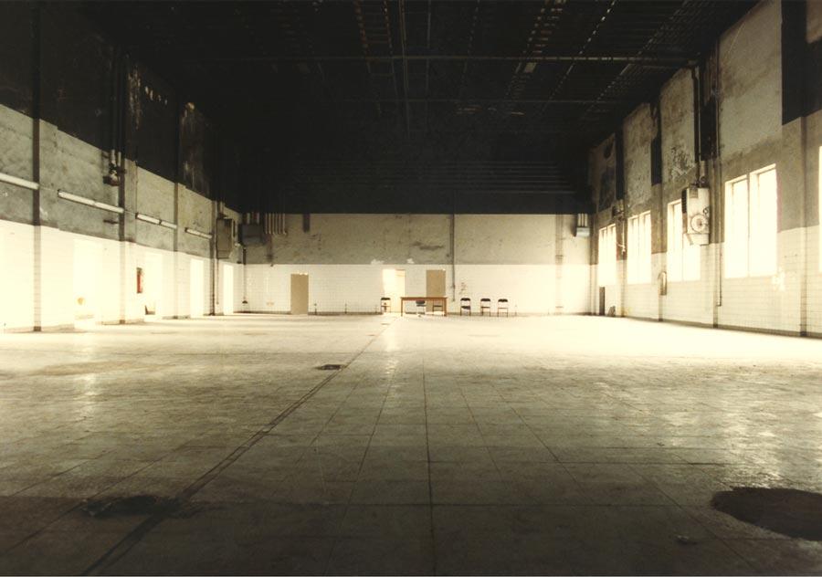 Der spätere Theaterraum - 1994, Photo: Rhida Zouari