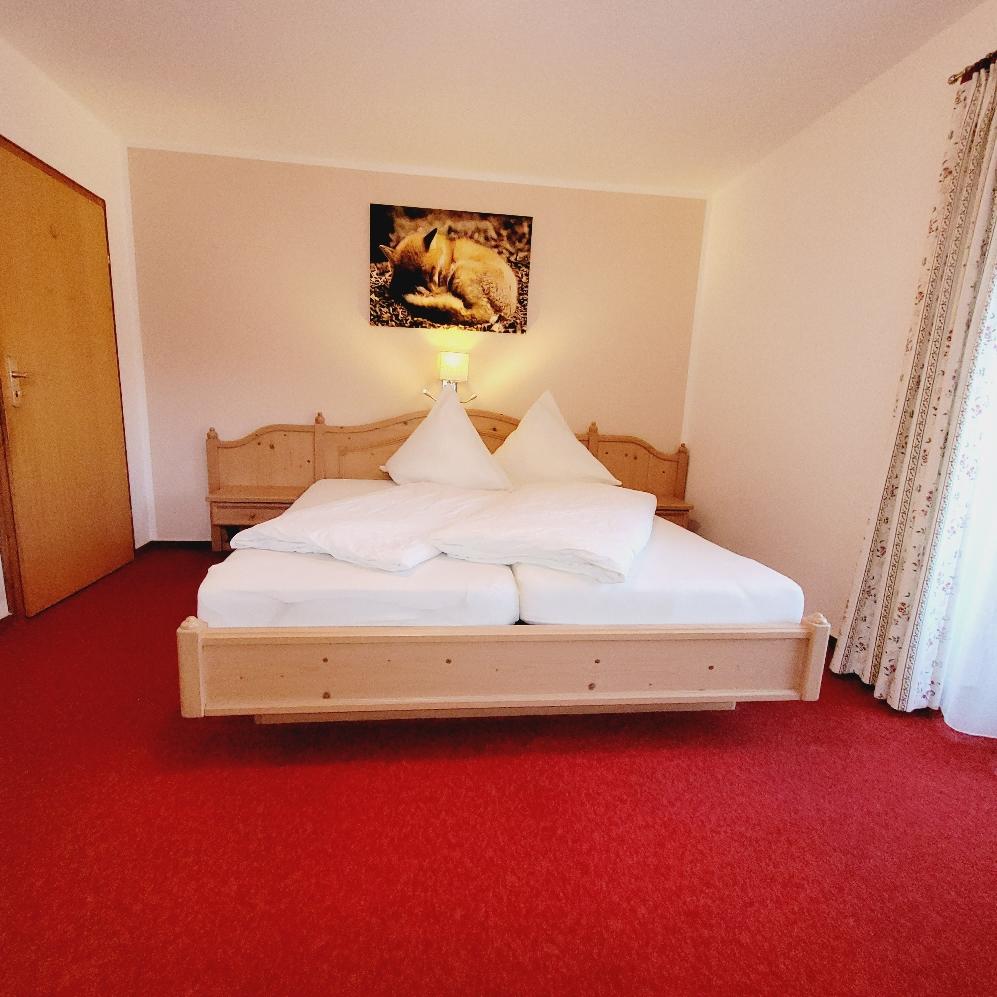 Schlafzimmer mit Komfortmatratzen