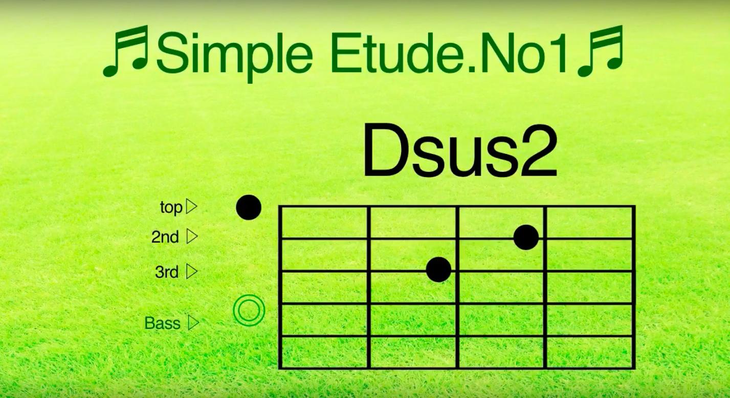 アルペジオを練習しよう-simple etude no1-