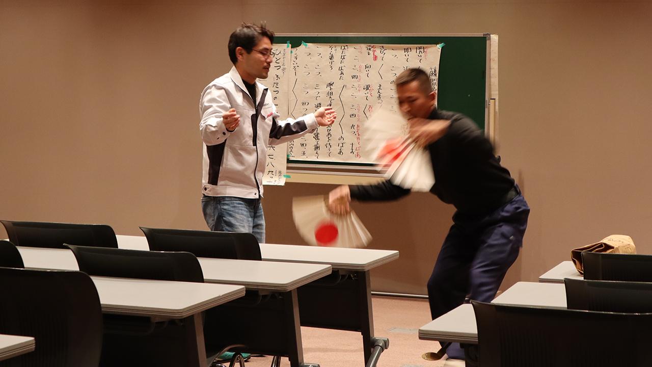 令和元年12月の手古舞練習風景7