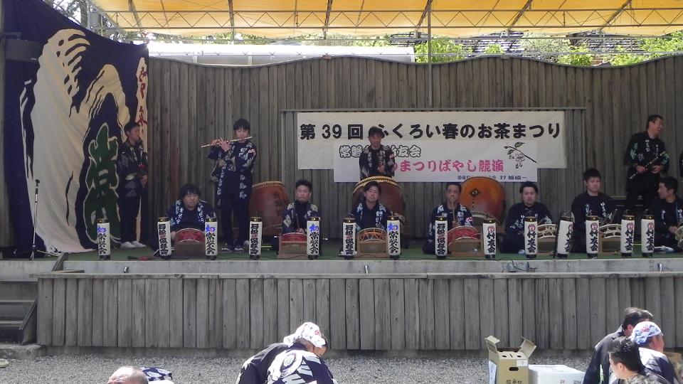 竹友会とのお囃子競演