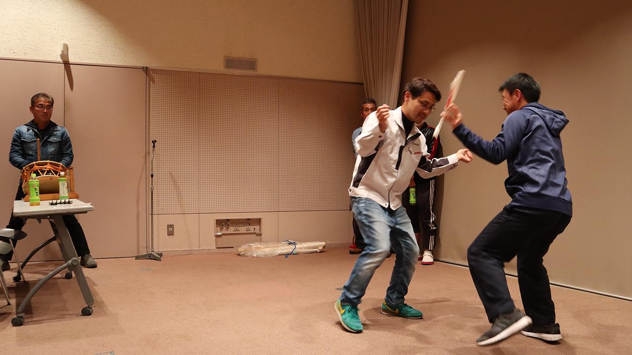 令和元年12月の手古舞練習風景2