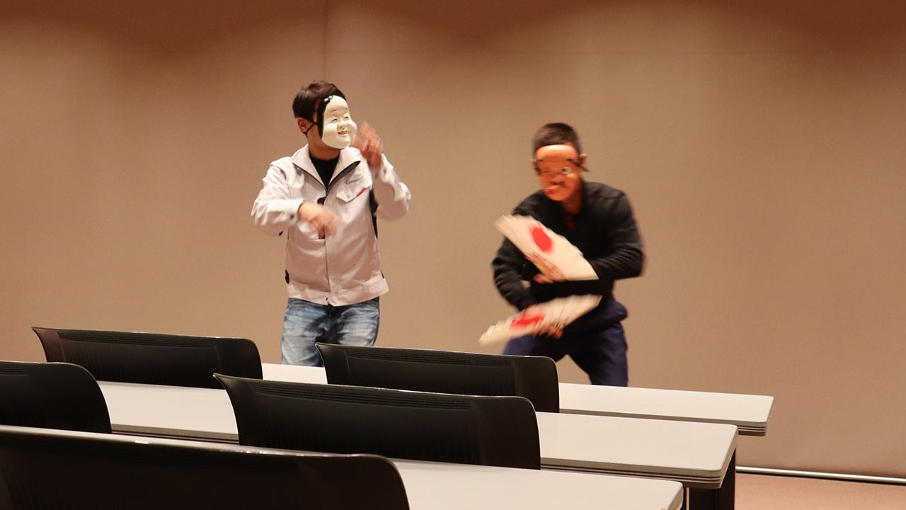 令和元年12月の手古舞練習風景13