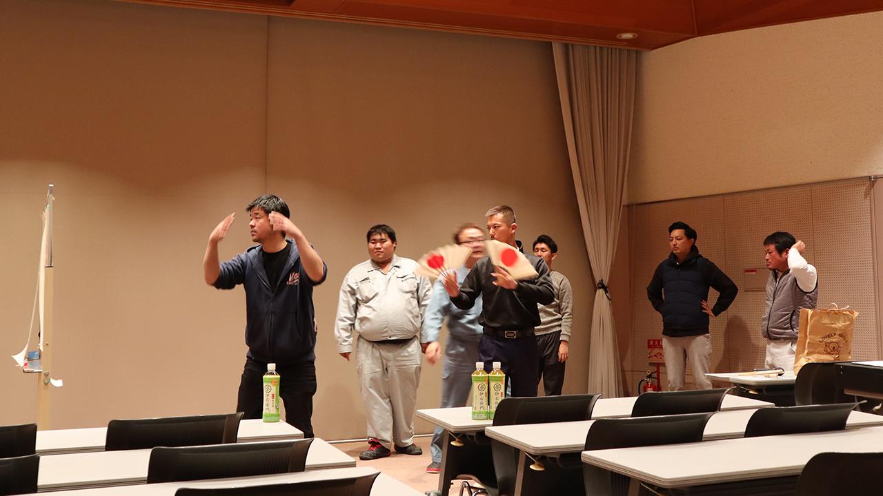 令和元年12月の手古舞練習風景3